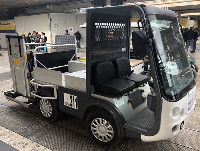 ELECTRIC PICK-UP GAGLIOFFO FOR RAILWAYS - Esagono Energia