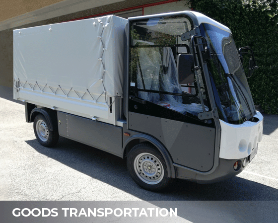 goods transportation Electric vehicles Esagono Energia
