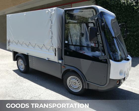 goods transportation Electric vehicles Esagono Energia