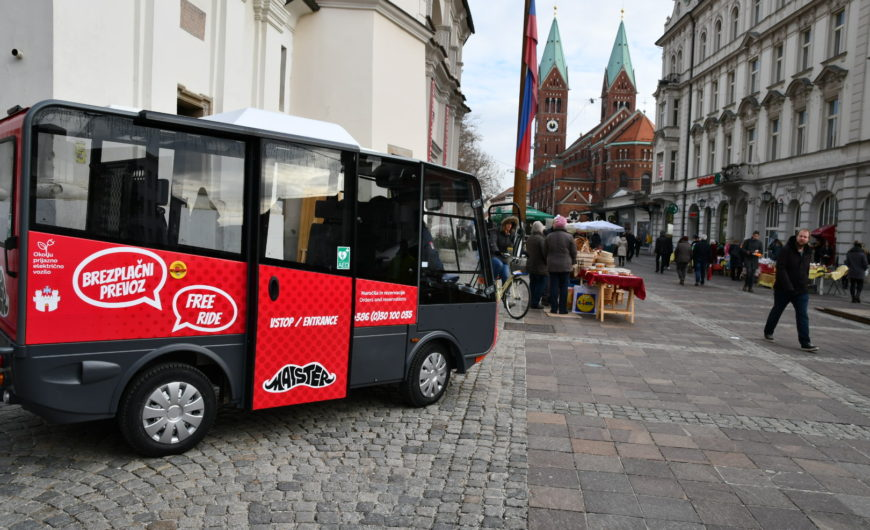 Municipality of Maribor - Maister mini electric vehicle
